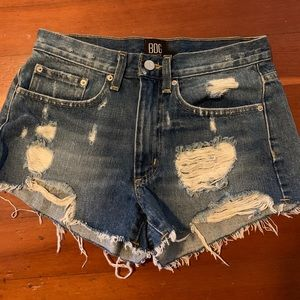 BDG Jean shorts (urban outfitters)